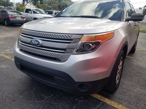 2011 Ford Explorer 3rd row leather for Sale in Fort Lauderdale, FL