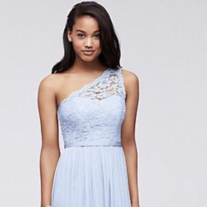 One-Shoulder Lace Bridesmaid /Formal Gown for Sale in Bowie, MD