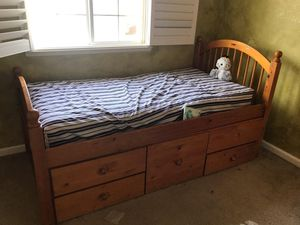 Twin size storage bed for Sale in Salida, CA