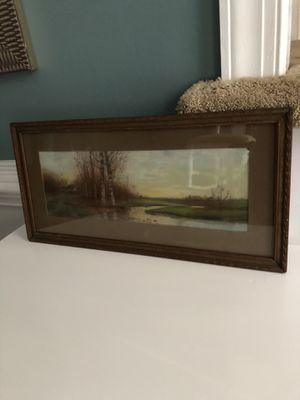 Original Cabin Watercolor for Sale in Chesapeake, VA