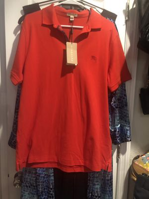 Men's Burberry Casual Polo Shirt NWT for Sale in South Miami, FL
