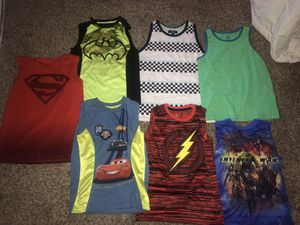 Kids used clothes size 8 in great condition $4 each all for $25 serious buyers only for Sale in Palmdale, CA