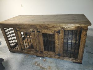 dog crate New just ordered cant take upstairs for Sale in Savannah, GA