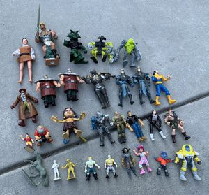 Action figure toys for Sale in Camp Hill, PA