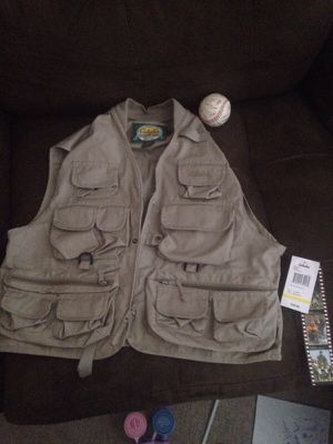 Brand new cabelas fishing vest youth med for Sale in Plainfield, IL