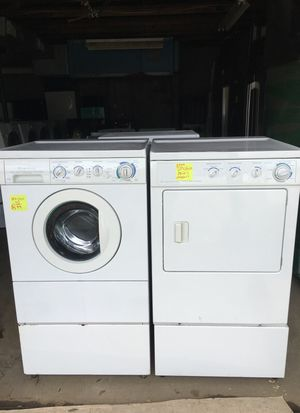 Front Loder Washer And Dryer One year warranty excellent condition for Sale in Durham, NC