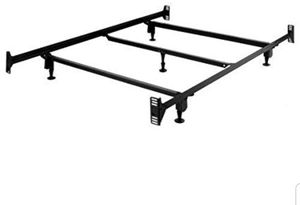 Metal bed frame, full size or queen size for Sale in Pleasanton, CA