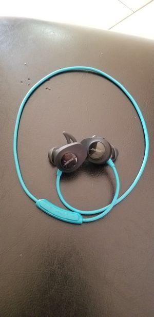 Bose wireless bluetooth sweat proof headphones for Sale in Stone Mountain, GA