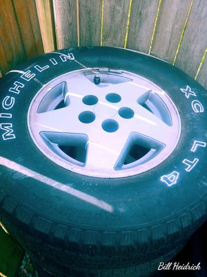 """15"""" wheels and tires for Sale in Hilliard, OH"""