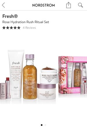 Fresh hydration rush ritual skin care set for Sale in Englewood, CO