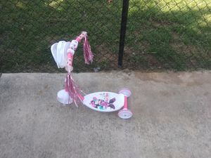 Minnie mouse childs scooter for Sale in Rio Linda, CA