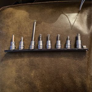 Snap on 8 Piece Torx bit And socket Set for Sale in Topanga, CA