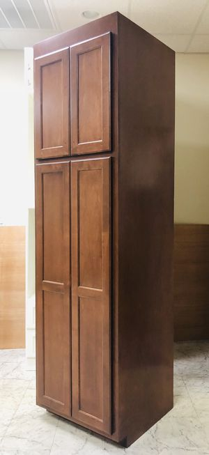 Pantry Maple Wood - Cherry Stain for Sale in Fayetteville, NC
