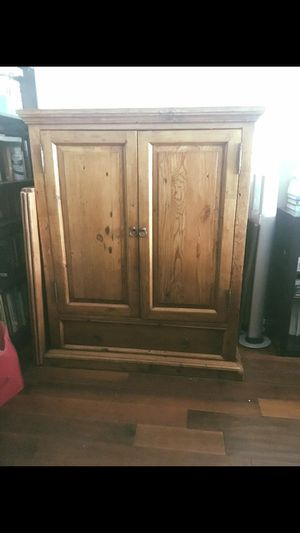 ANTIQUE Cabinet/ Armoire/ Shelf/ Storage for Sale in Los Angeles, CA