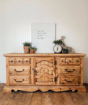 All wood 9 drawer dresser for Sale in Mount Vernon, WA