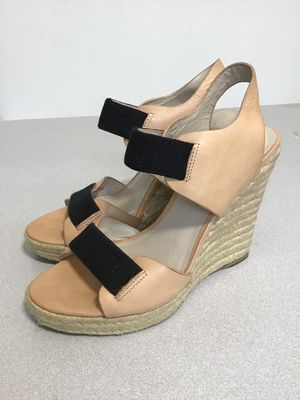 MICHAEL KORS ESPADRILLE WEDGE OPEN TOE SHOES SIZE 7 for Sale in Middleburg, FL