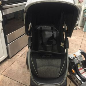 Baby Stroller Bravo Chicco And Carseat Y Base for Sale in Santa Ana, CA