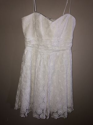 white floral dress size 13 for Sale in Avon Lake, OH