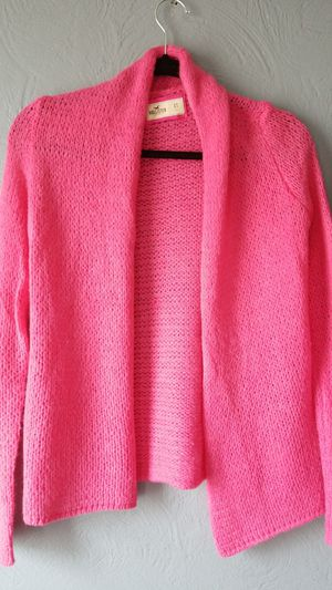 Hollister Hot Pink Sweater Shall for Sale in Pittsburgh, PA