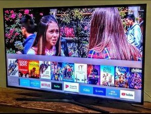 "SMART TV. SAMSUNG 55"" 4K LED WITH SCREEN MIRRORING FULL UHD 2160p ( Negotiable ) for Sale in Phoenix, AZ"