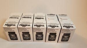 Lot of 10 Higgins Black India Fountain Pen Ink, 2.5 Oz Bottle for Sale in San Leandro, CA