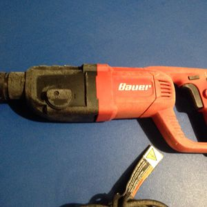 "Bauer 1"" Rotary Hammer for Sale in Fowler, CA"