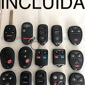 Controles Para Carros Smart Keys Fobs Remotes Chevy Cadillac GMC Toyota Honda Dodge Jeep Chrysler Ford Lincoln Nissan Infiniti for Sale in Huntington Park, CA