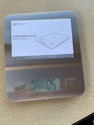 Food kitchen digital scale for Sale in Castro Valley, CA