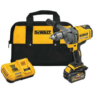 DEWALT FLEXVOLT 60-VOLT MAX LITHIUM-ION CORDLESS BRUSHLESS 1/2 IN. MIXER/DRILL WITH E-CLUTCH WITH BATTERY 2.0AH, CHARGER & BAG for Sale in Cicero, IL