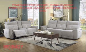 Living room power recliner 2 pc set $1499 for Sale in Concord, CA