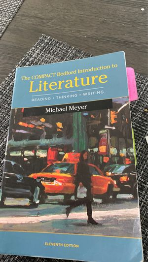 The Compact Bedford Introduction to Literature for Sale in Jurupa Valley, CA