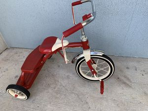 Radio flyer trickle and helmet for Sale in Tampa, FL
