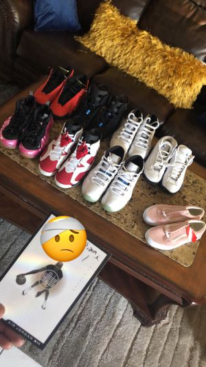Jordan 6 , 11 , 13 , 14 . Pink Foams , Vans for Sale in Delray Beach, FL
