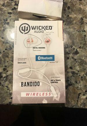 Wicked audio headphones earbuds for Sale in Apex, NC
