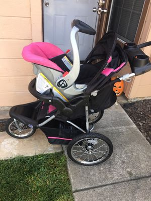 Baby stroller and Car seat. for Sale in Salinas, CA