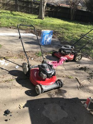 Lawnmower s for sale for Sale in Houston, TX
