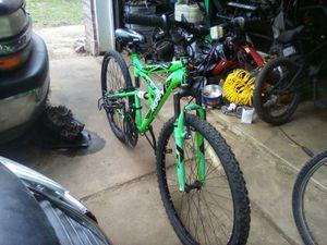 26inch huffy green dual shocks mountain bike for Sale in Round Rock, TX