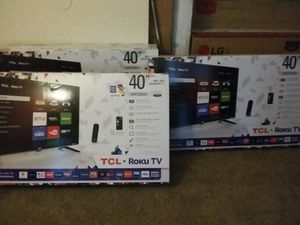 "TCL ROKU SMART TV, 40 "" for Sale in Indianapolis, IN"