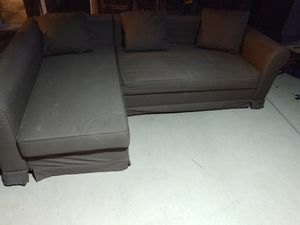 IKEA sectional sleeper couch for Sale in Phelan, CA
