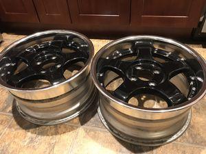 15x8 +34 SSR SP1R 4x100 3pc wheels for Sale in Seattle, WA