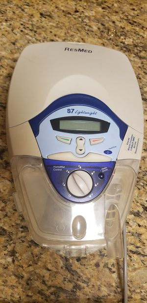 Resmed s7 cpap oxygen humidifier machine for Sale in Brandon, FL