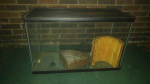 Fish/reptile tank. w/ accessories for Sale in West Homestead, PA