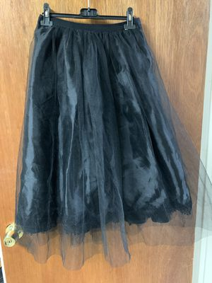 BCBGeneration Tulle and Satin Skirt blk for Sale in Philadelphia, PA