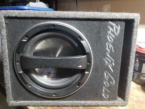 """Phoenix gold powered subwoofer 10"""" for Sale in Hayward, CA"""