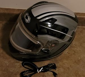 Castle Electric Heated Snowmobile Motorcycle ATV UTV Helmet for Sale in Green Bay, WI
