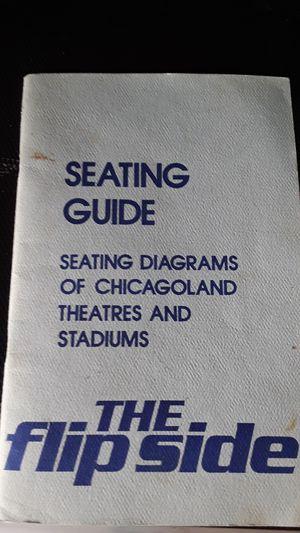 Flipside concert stadium diagram sitting for Sale in Laguna Beach, CA