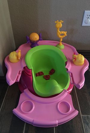 Baby Infant Activity Play Feeding Booster Seat Bumbo Seat chair for Sale in Colorado Springs, CO