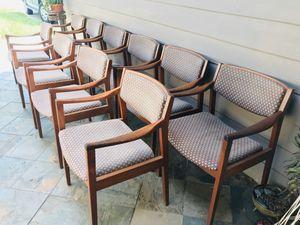 Mid century vintage antique Gunlocke chairs $100 each for Sale in Sugar Land, TX