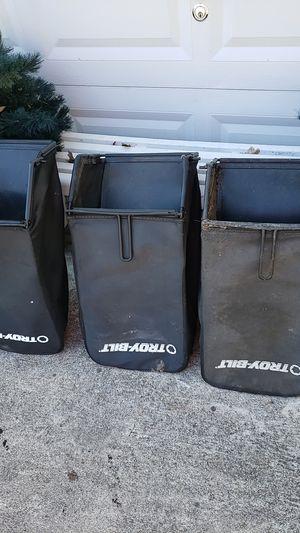3 Troy-Bilt rear baggers for Sale in Farmville, VA