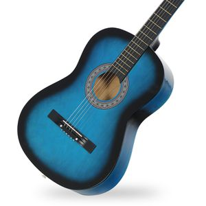 Blue Acoustic Guitar for Beginners for Sale in Arcadia, CA